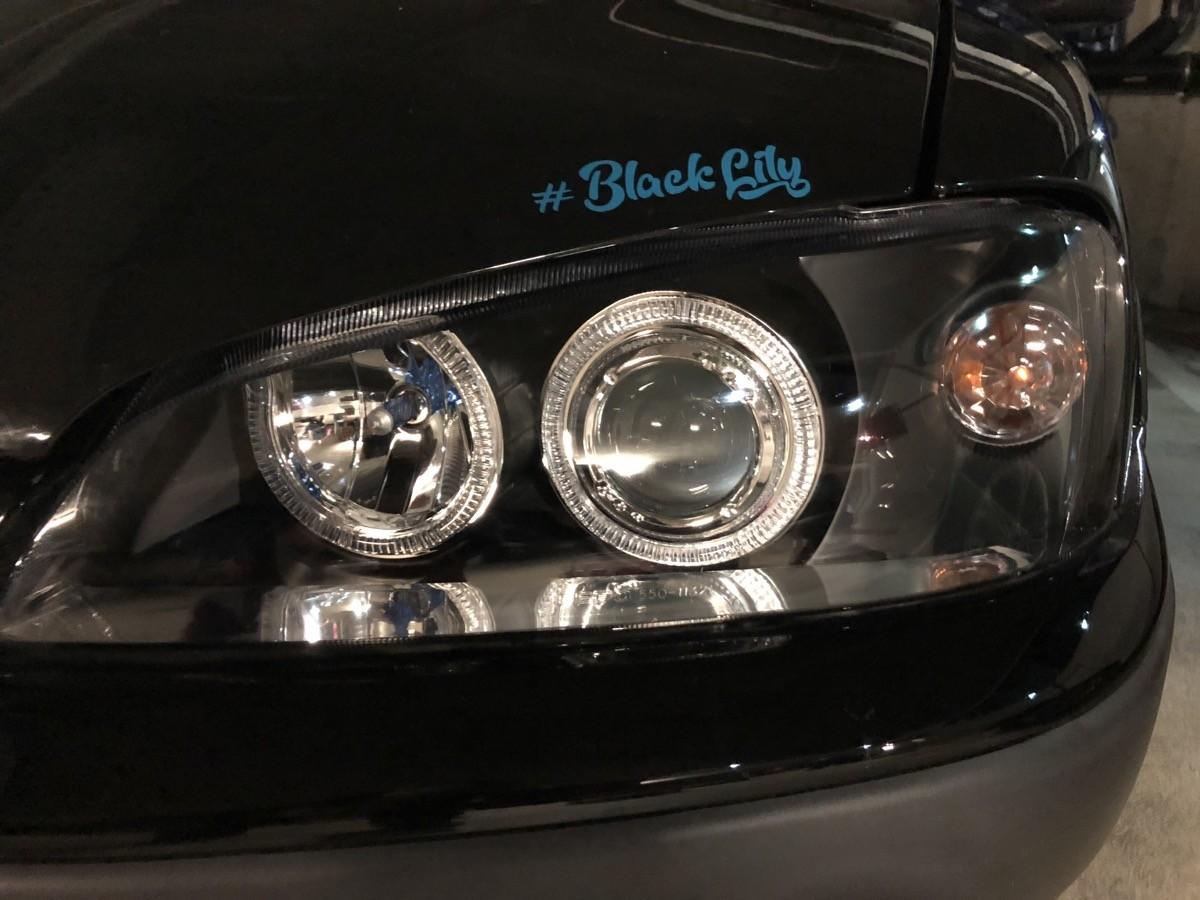 BlackLily | Angeleyes Scheinwerfer verbaut
